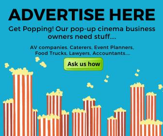 Screen sales advert