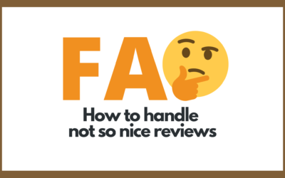 Protected: How to handle not so nice reviews