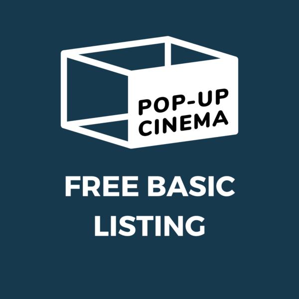 Pop-Up Cinema Free
