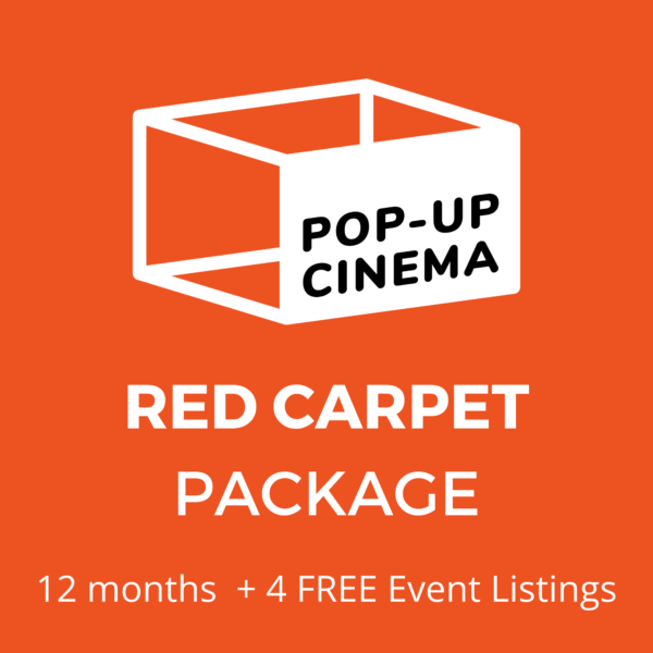 Pop-Up Cinema Red Carpet 12mo